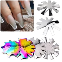 c curve line nail tip model edge metal trimmer french nail cutter nail art fine tuning template nail line diagram nail art tool