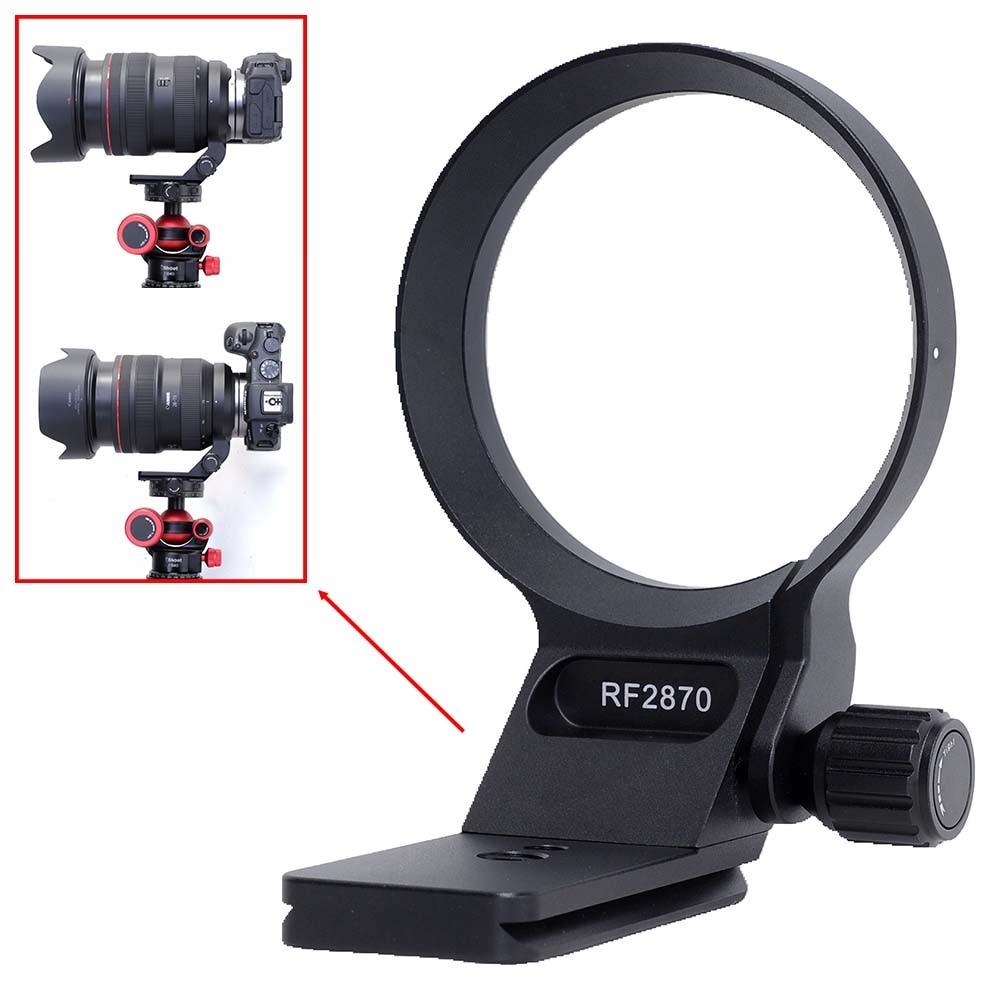 IShoot-حلقة تثبيت الكاميرا ثلاثية القوائم ، لكانون RF 28-70 مللي متر f/2L USM ، مع Arca-Swiss Fit ، لوحة سريعة التحرير ، Dovetail