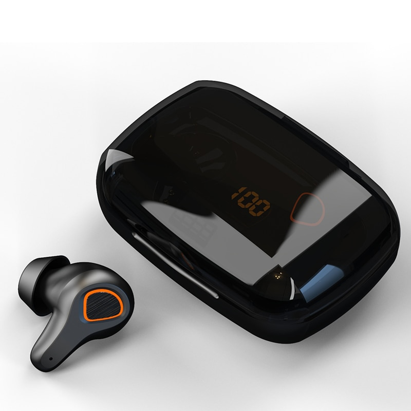New Arrivals 2021 Led Battery Display QCC3020 Headphones Active Noise Canceling Touch BT Wireless earbuds enlarge