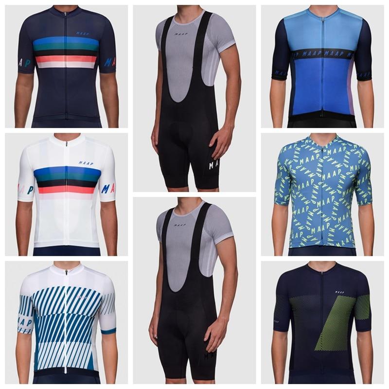 Camiseta de Manga corta transpirable para hombre, maillot de ciclismo de Carretera,...