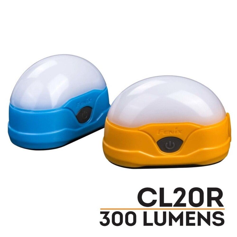 Fenix CL20R USB Recarregável 300 Lumens LED Lanterna Camping Luz