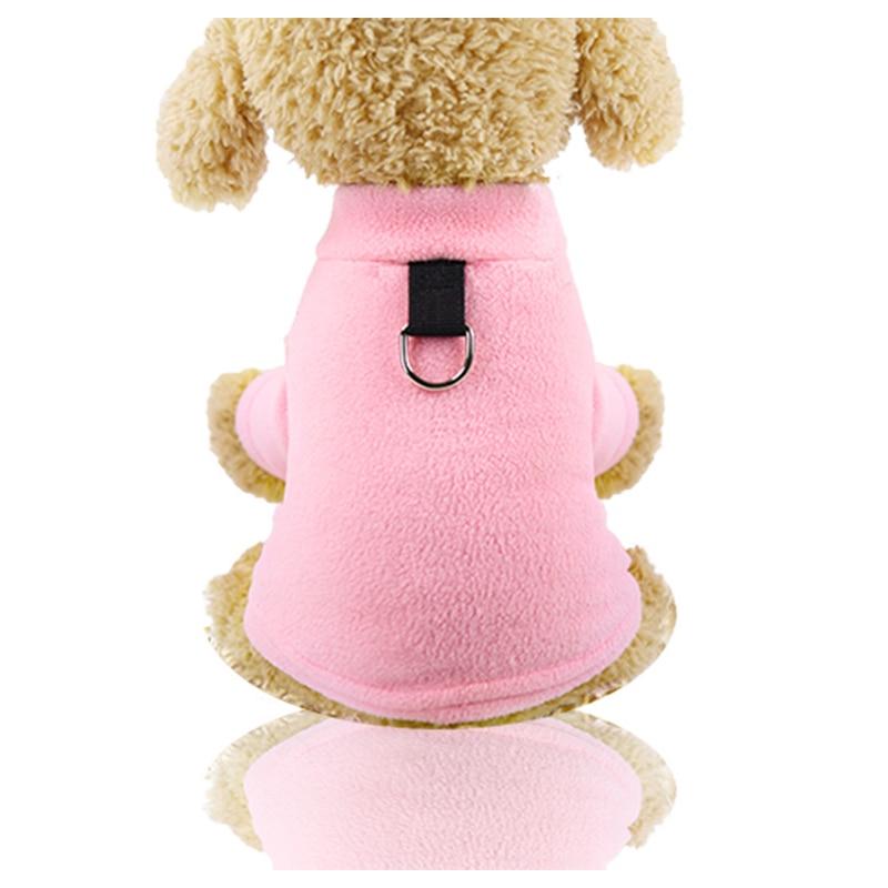 Punta de pata suave de lana de abrigo cálido para perros chaquetas para perrito ropa de perro pequeño Shih tzu Pomerania mascota ropa de invierno para perros encantadores