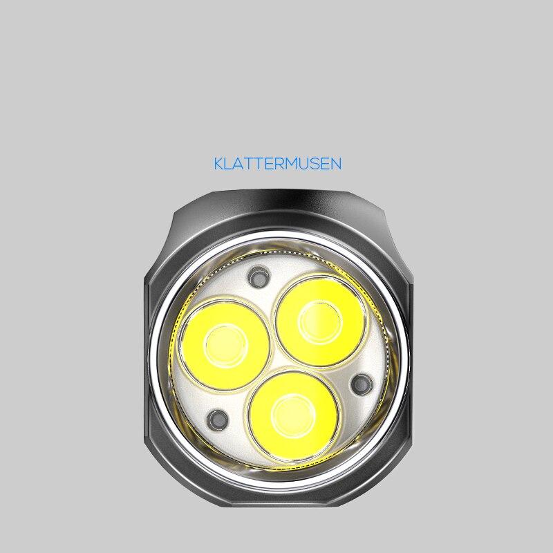 Mini Camping Flashlight Portable 3000lumen Hard Light Fashion Flashlight Rechargeable Led Linterna Led Outdoor Lighting EI50SD enlarge