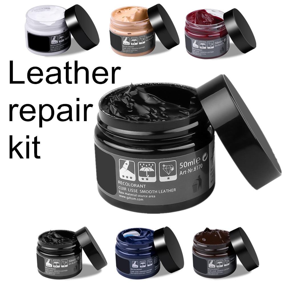 Sikeo kit de cuidados com o carro pele couro líquido refurbish repair tool coats do sofá do assento automóvel buracos rachaduras restauração para o carro