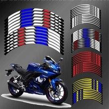 Светоотражающая наклейка для мотоцикла Yamaha R15 R3 R6 R1, 17 дюймов