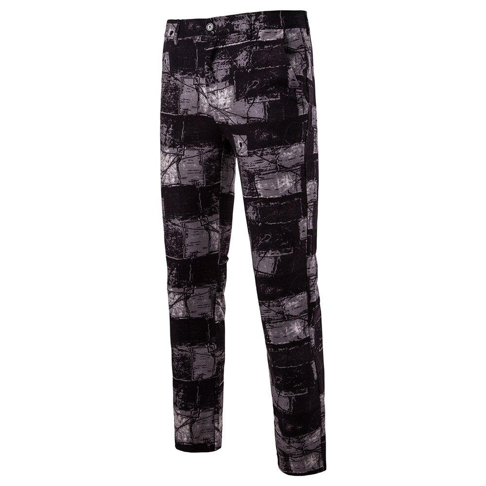 Мужские камуфляжные брюки в клетку, сезон осень-зима 2020, мужские прямые брюки-карго с принтом, облегающие мужские строгие брюки