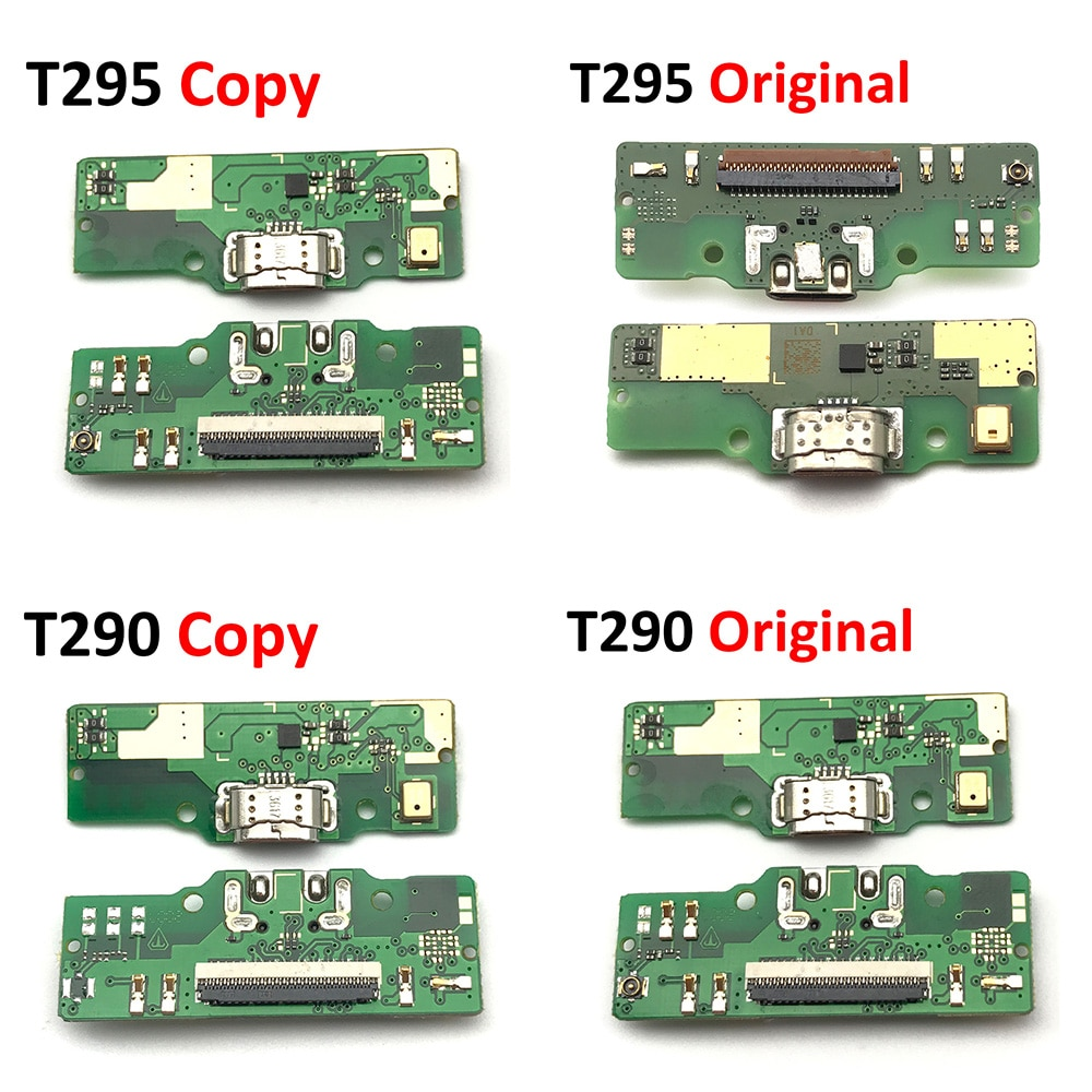 Cable flexible para Samsung Galaxy Tab A 8,0 2019 SM-T290 T290 T295 con conector de carga de alimentación USB
