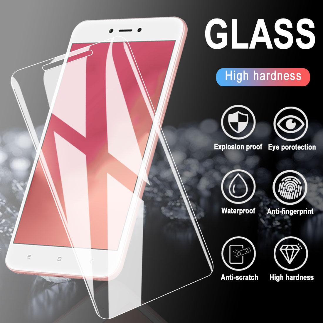 5 uds vidrio templado para Xiaomi Redmi Note 6 Pro Protector de pantalla Film para Note 4 4X5 6A vidrio para Redmi Note 5A Prime 2 3