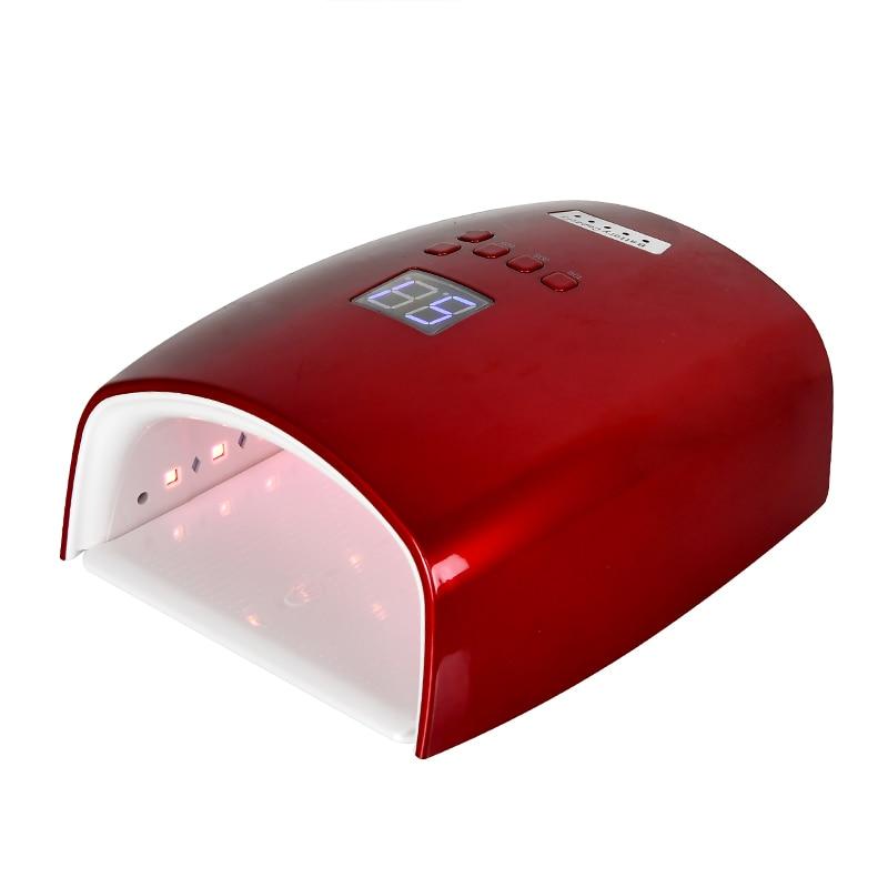 48W Rechargeable Nail Lamp S10 Wireless Nail Salon Lamps Gel Polish Dryer LED Nail Oven Cordless Nail UV LED Lamp