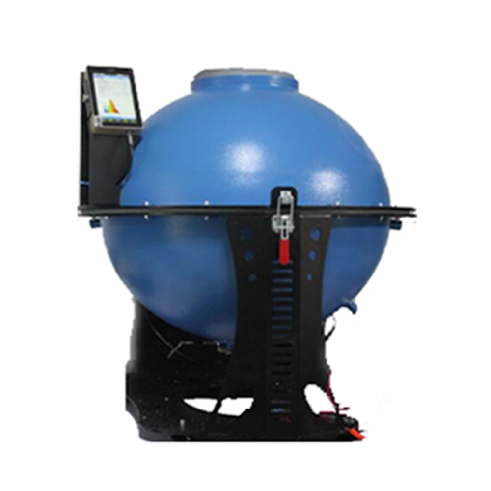 Espectroradiómetro con sistema de esfera integrado