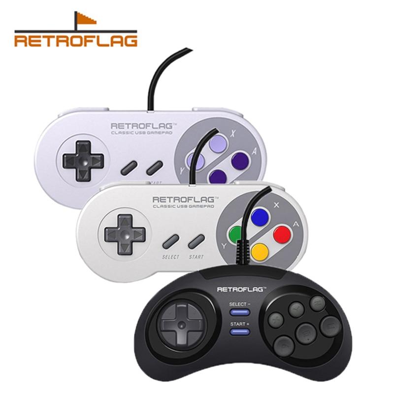 2 шт., классический USB-контроллер для Raspberry Pi Windows Nintendo Switch