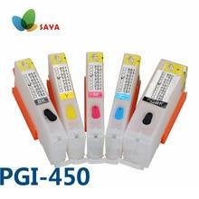 PGI-450 PGI450 Cartouche De Recharge Pour Canon PIXMA IP7240 MG5440 MG5540 MG6440 MG6640 MG5640 MX924 MX724 IX6840 imprimante