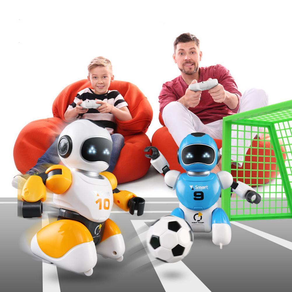 Inteligente USB RC Robot lucha fútbol Soccer Singing Dancing juguete educativo