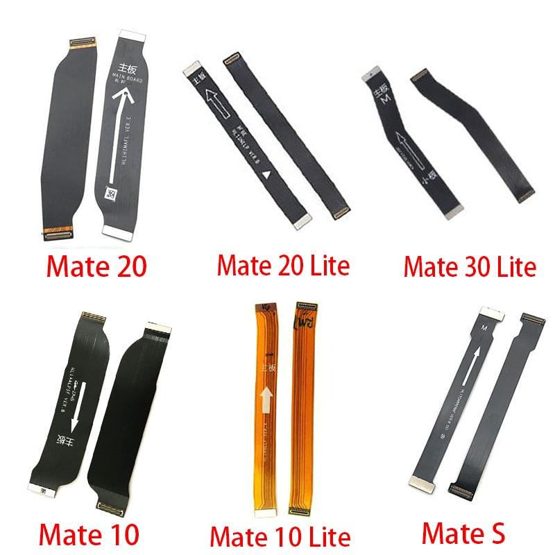 Материнская плата разъем платы гибкий кабель для huawei mate S 7 8 9 10 20 30 Lite Pro 20X гибкий кабель для материнской платы