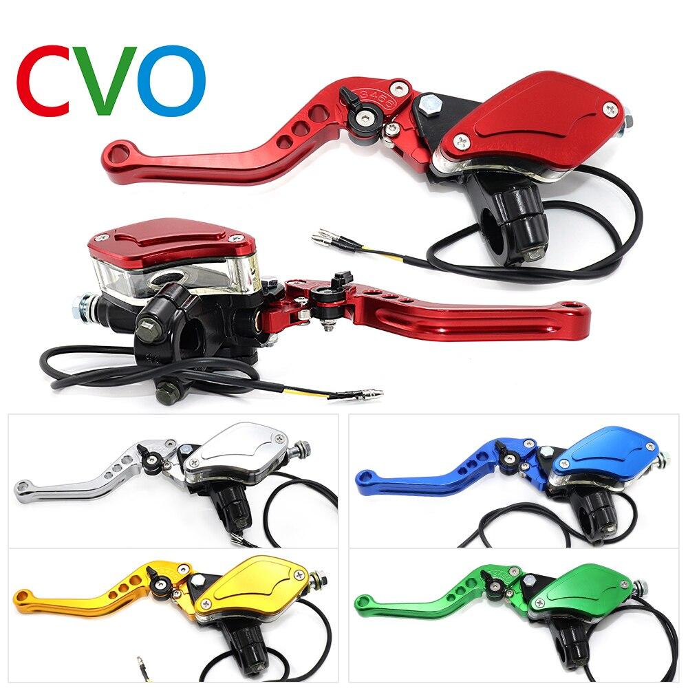 "CNC, aluminio, 7/8 "", 22mm, freno de motocicleta, bomba de embrague hidráulica, palanca, cilindro maestro hidráulico de motocicleta, manija hidráulica"