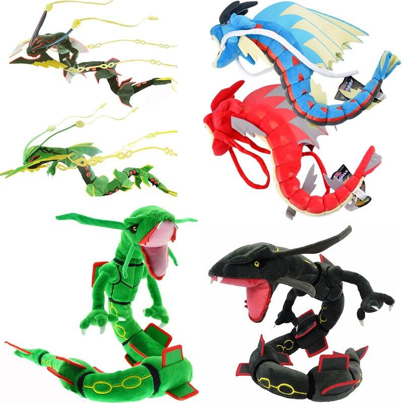 8 Style Dragonair Gyarados Mega Rayquaza Sky Dragon Pocket Animal Pikachu Series Plush Toys Doll Birthday Festival Gift For Kids
