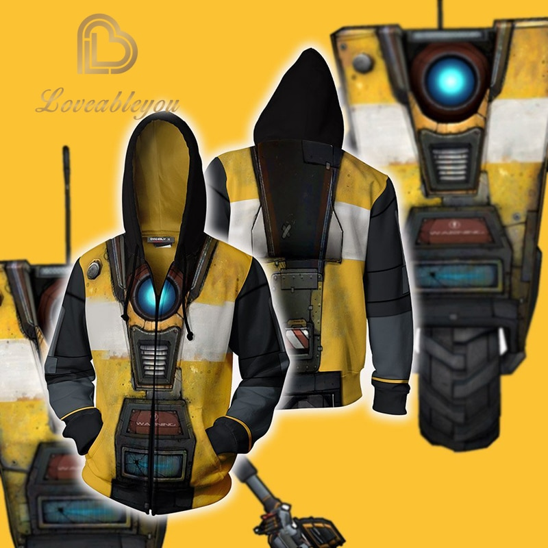 De los hombres de moda Juego 3 Cosplay sudaderas con capucha fiesta de disfraces de Halloween 3D Unisex cremallera sudaderas con capucha