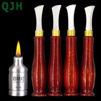 QJH высококачественный профессиональный инструмент «сделай сам» для прессования краев кожи, инструмент ручной работы из нержавеющей стали, ...