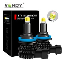 2x H1 H3 H7 H8 H11 H9 HB3 9005 HB4 9006 LAMPE à LED Voiture Phare Ampoule Canbus Antibrouillard Automatique Pour citroen c4 c5 c3 souhaite tundra camry