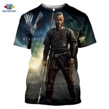 SONSPEE Hot Tv Series Odin Vikings TShirt Homme 3D พิมพ์ฤดูร้อนแฟชั่น Streetwear แขนสั้นเกมตลกกีฬา T เสื้อผู้หญิง