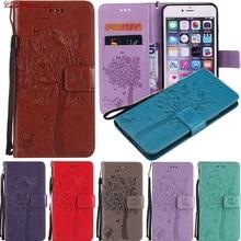 Flip Case for Samsung Galaxy A5 2015 A 5 500 SM A500 A500Y A500H A500F SM-A500F SM-A500FU A500YZ PU Leather Cover TPU Coque Bags
