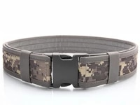 2 inch military army tactical belt nylon waist support outdoor sports waistband training hunting accessories airsoft combat belt