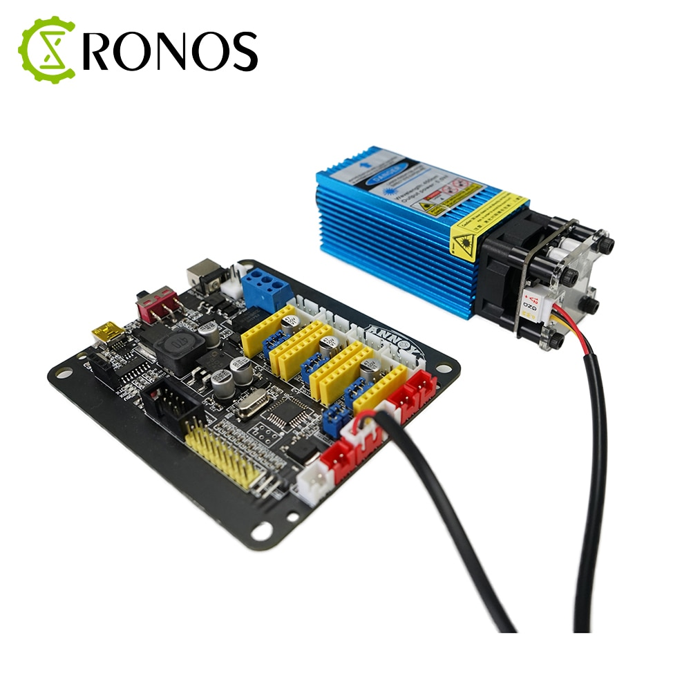 Buy One Get One Free laser module 3.5W 450nm 33mm Adjust Focus Blue Laser Engraving And Cutting PWM Control Laser Tube+Goggles enlarge
