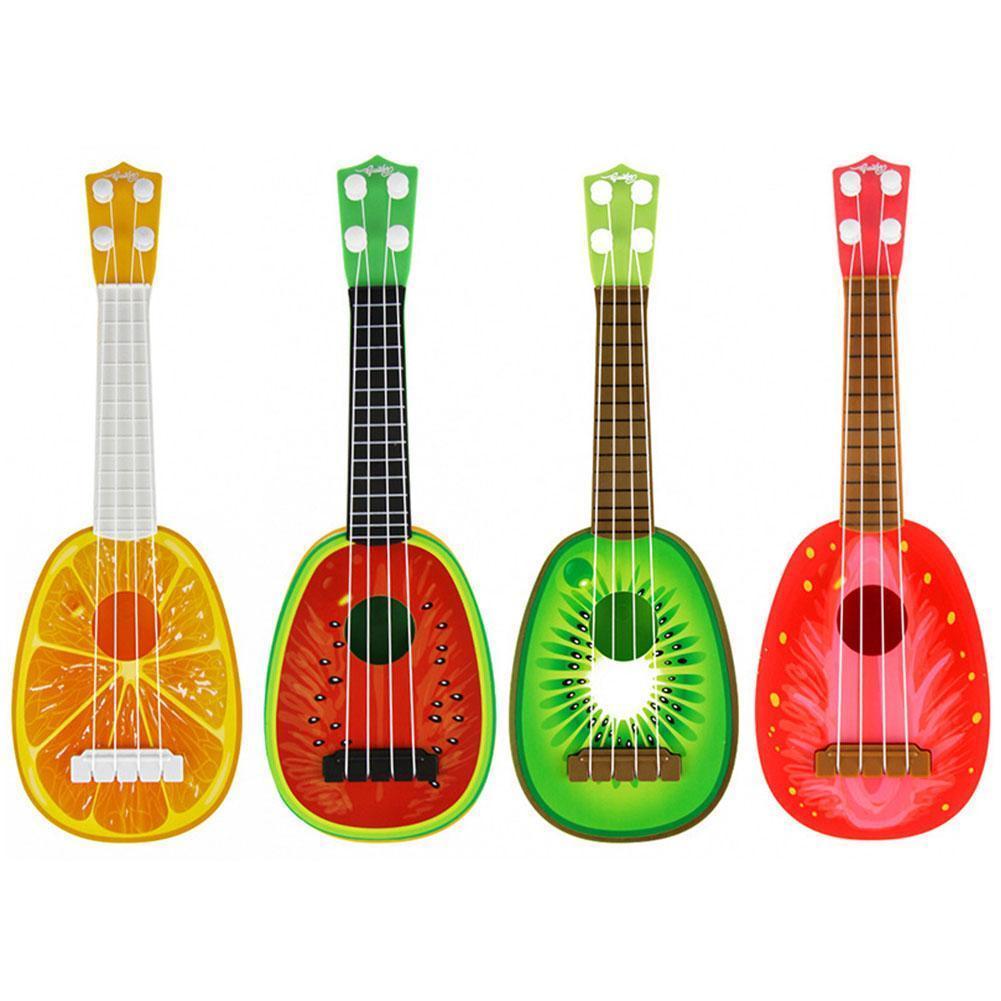Guitarra Musical para niños, ukelele de simulación para principiantes y niños, Juguete...
