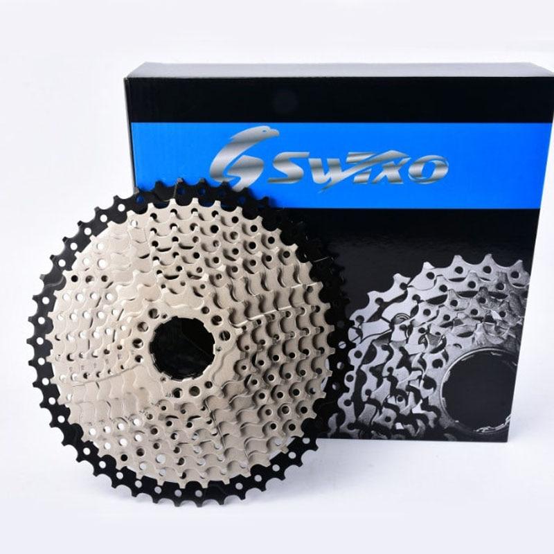 Sunshine roda livre 10-speed 46 t mtb bicicleta cassete sprocket ciclismo componentes