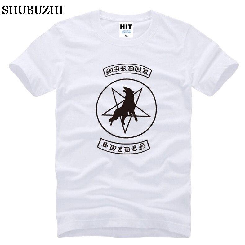 Camiseta de Marduk para hombre, camisa de Death Metal Heavy Metal Rock,...
