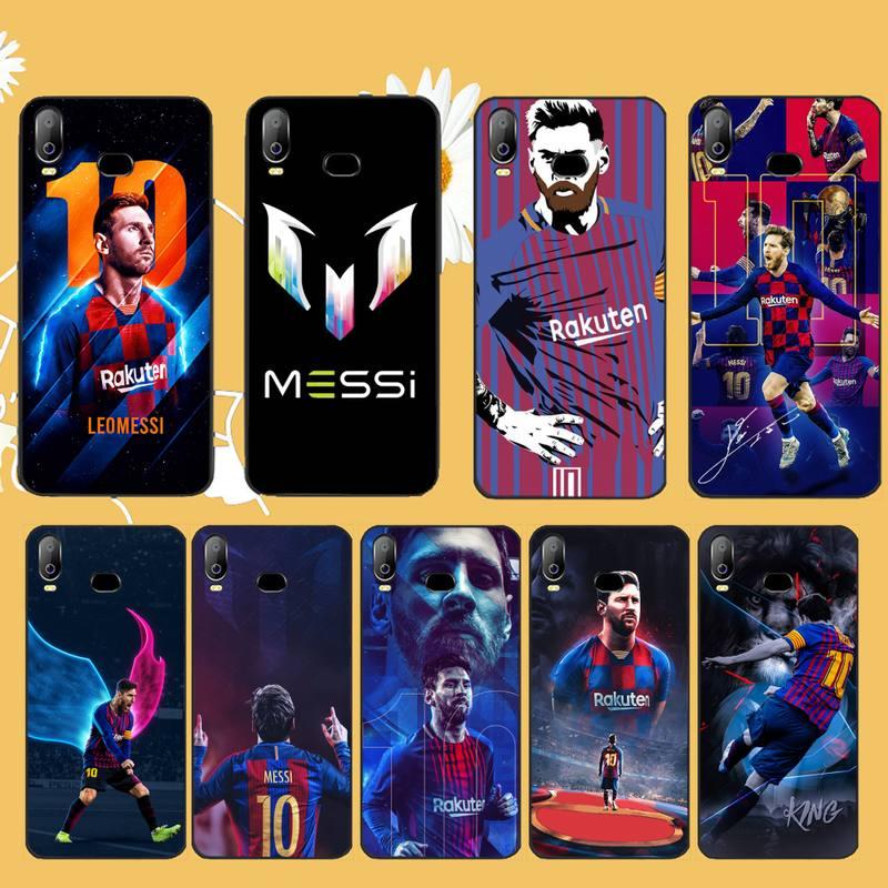 Мягкий черный чехол для телефона NBDRUICAI Messi athlete для Samsung A10 A20 A30 A40 A50 A70 A71 A51 A6 A8 2018