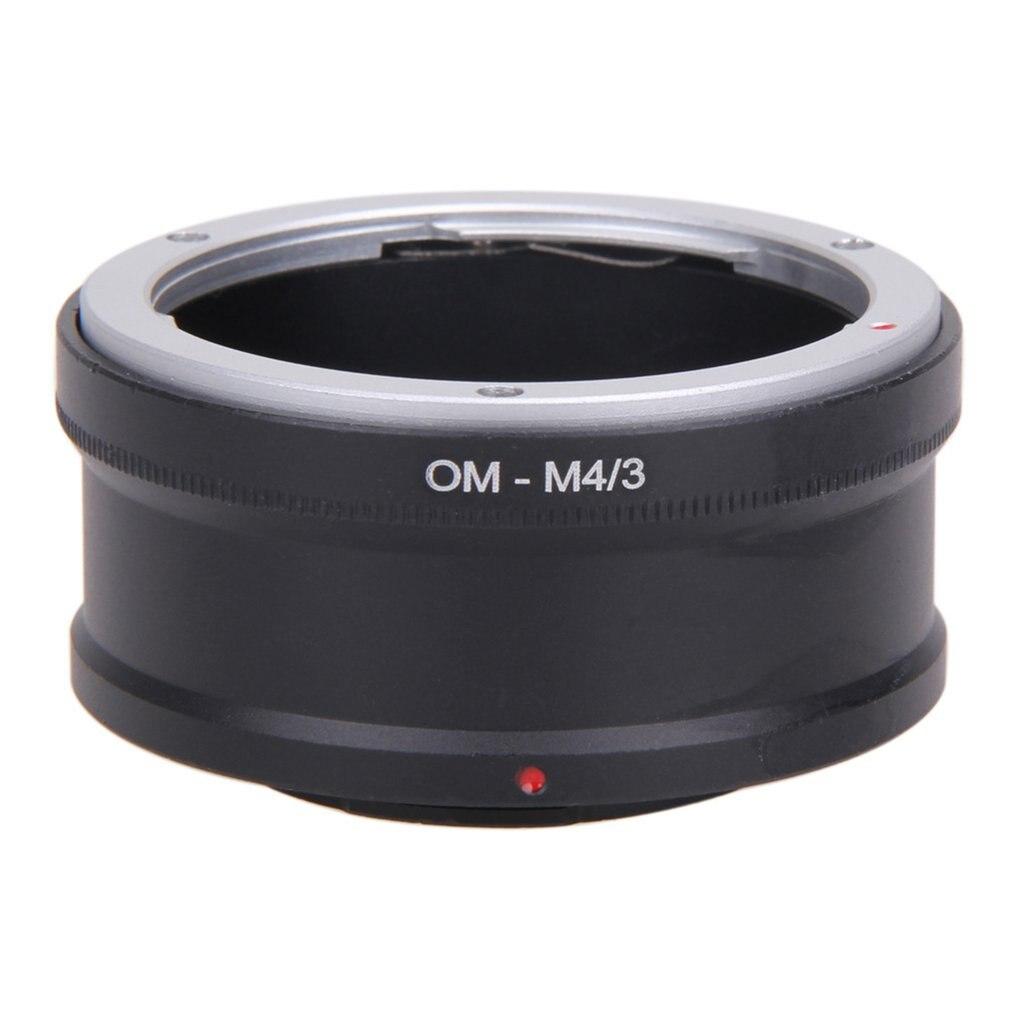 OM-M4 / 3 anillo adaptador de lente Om MICRO 4/3 M43 Cuerpo de Cámara anillo adaptador de lente inversa para Olympus