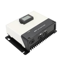 powmr new product launch mppt 85a100amp 12v24v48v150240v built in ble module solar charge controller with parallel function
