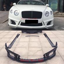 FRP Car body kit Front bumper rear bumper side skirts apron rear spoiler For Bentley GT 12-16