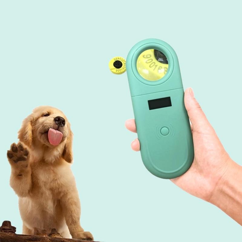 Handheld Protable Pet Chip Reader Electronic Ear Tag Chip Scanner Animal Microchip Recognition Reader for Cat Dog Pet enlarge