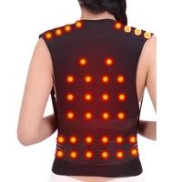 tourmaline self heating brace support belt back posture corrector spine back shoulder lumbar posture correction