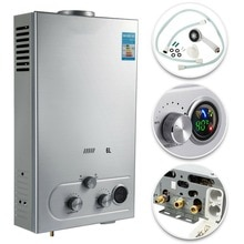 Hot Water Heater 6/8/10/12/16/18L Liquefied Petroleum Gas Water Heater Tankless Instant Boiler with
