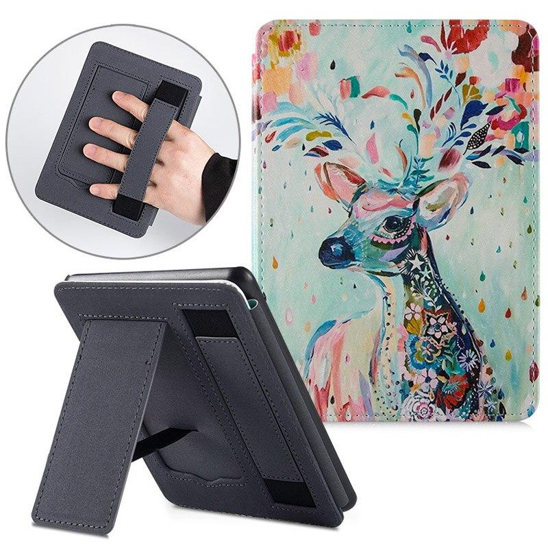 Bozhuorui para Todos os Novos Protetora com Sono J9g29r-suporte de Mão Case Kindle Generation Modelo Capa Automático – Wake 10th 2021