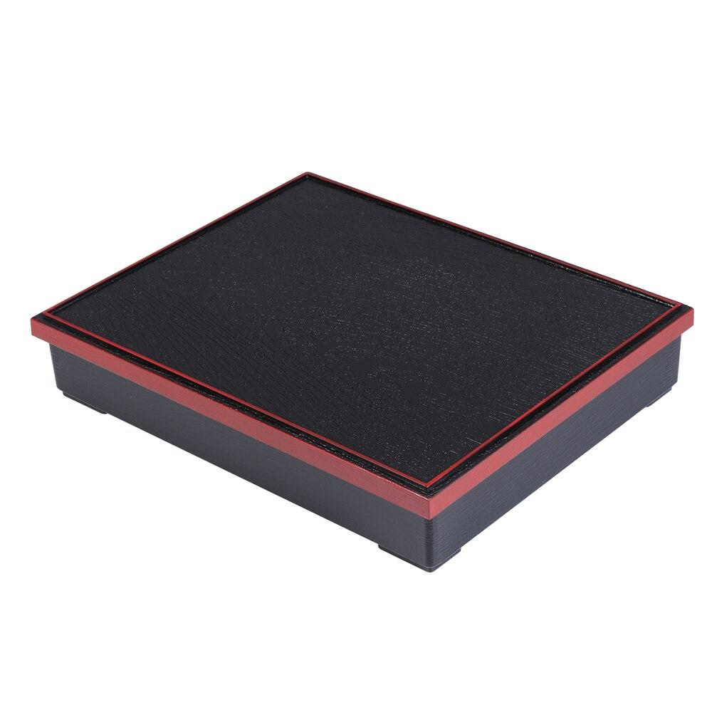 1 قطعة متوسطة الحجم اليابانية أوعية لحفظ الوجبات علبة سوشي بينتو صندوق لوجبات الأعمال (الخشب الحبوب غطاء بلا