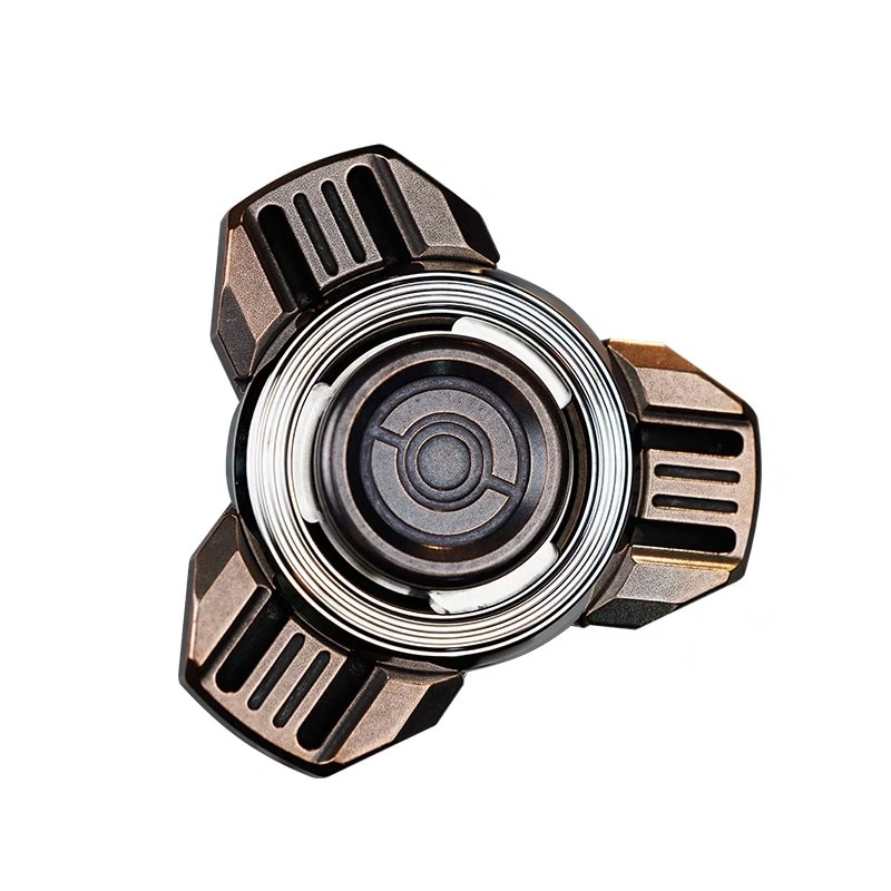 WANWU-EDC Nuclear Power Plant Fingertip Spinner Wasteland Technology Adult Metal Decompression Toy enlarge