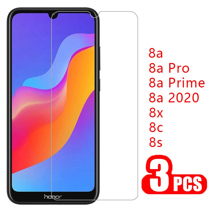 protective glass honor 8x 8s 8c 8a prime pro 2020 screen protector tempered glas for huawei 8 a c x s a8 x8 s8 honor8a honor8x enlarge