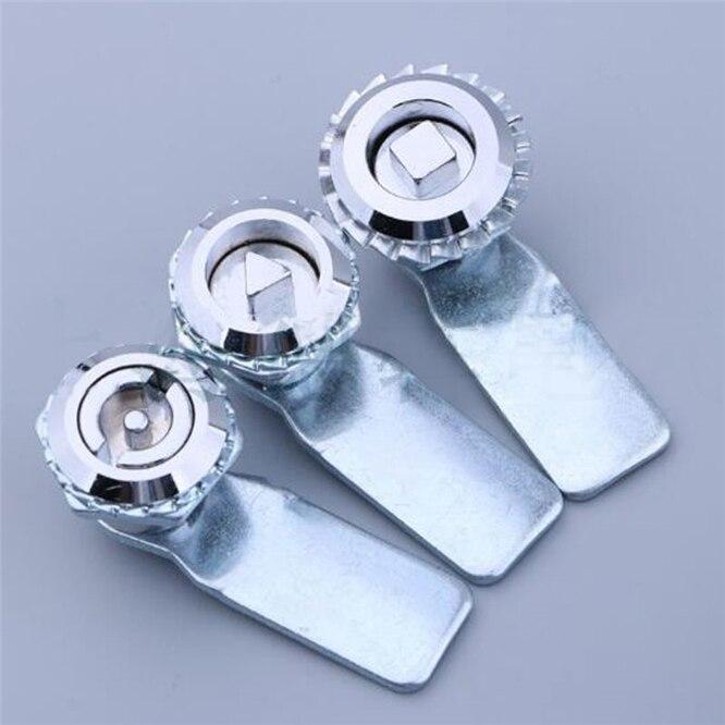 1 conjunto de liga de zinco ms705 triangular bloqueio medidor de gás fechadura da caixa de medidor elétrico de gás trava cam fechaduras gaveta alta qualidade
