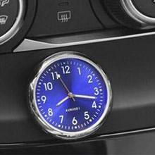 Car Clock Luminous Mini Cars Internal Stick-On Digital Quartz Accessories Watches Clock Automotive S