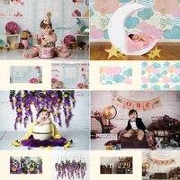 newborn baby portray photography backdrop for photo studio children kids birthday background decoration portrait photocall props