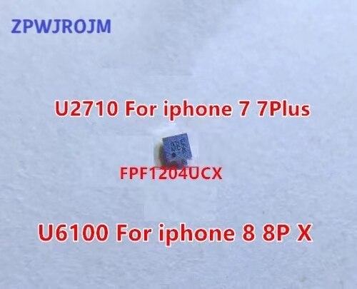 10pcs/lot U6100 FPF1204UCX ACCESSORY BUCK ic for iphone 8 8plus X U6100, 7 7P U2710