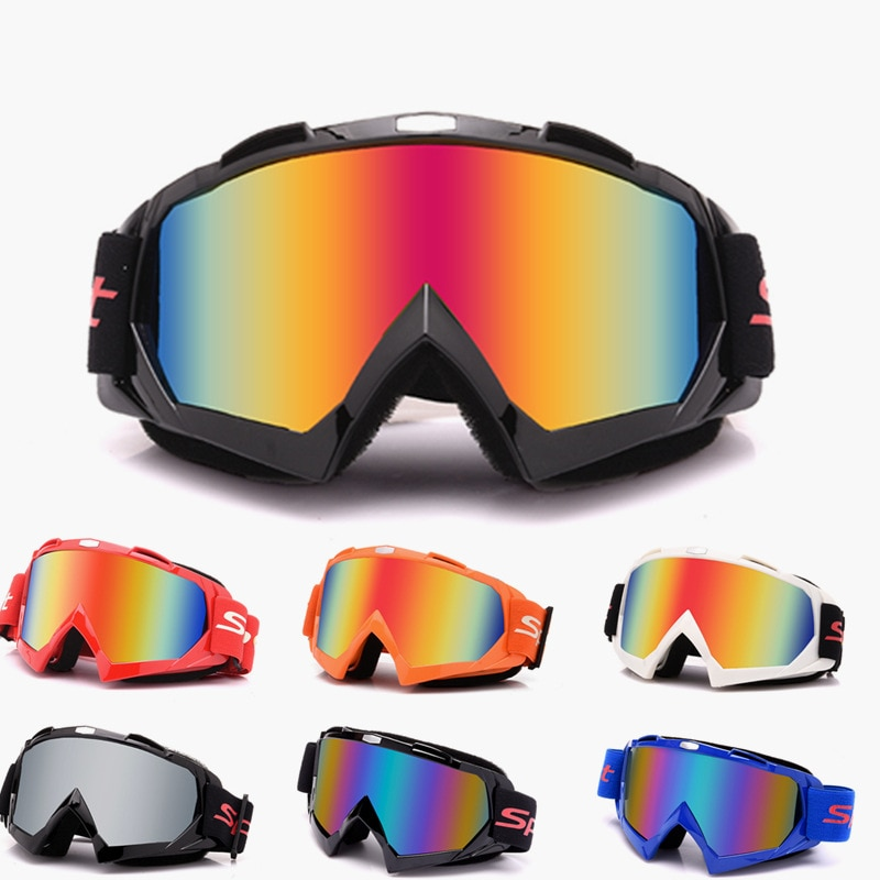 dustproof motocross glasses adjustable motorcycle goggles breathable full face protective dirt bike motorbike dirt bike off road ATV Motocross Goggles MX Off Road Dirt Bike Motorcycle Helmets Goggles Ski Moto Glasses 100% ATV For Motocross Glasses