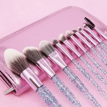2021Hot Diamond Makeup Brushes Set Maquiagem Foundation Powder Cosmetic Blush Eyeshadow Women Beauty