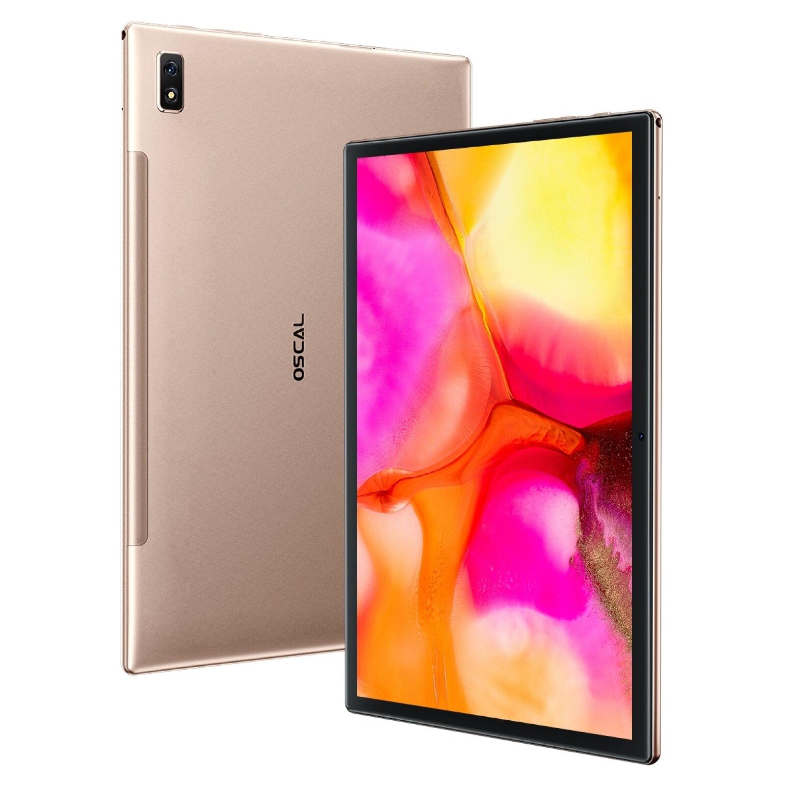"Blackview oscal almofada 8 android 11 tablet pc 10.1 ""4gb + 64gb sc9863a octa núcleo 1.6ghz 5mp sim duplo 4g & wifi & bluetooth 6580mah"