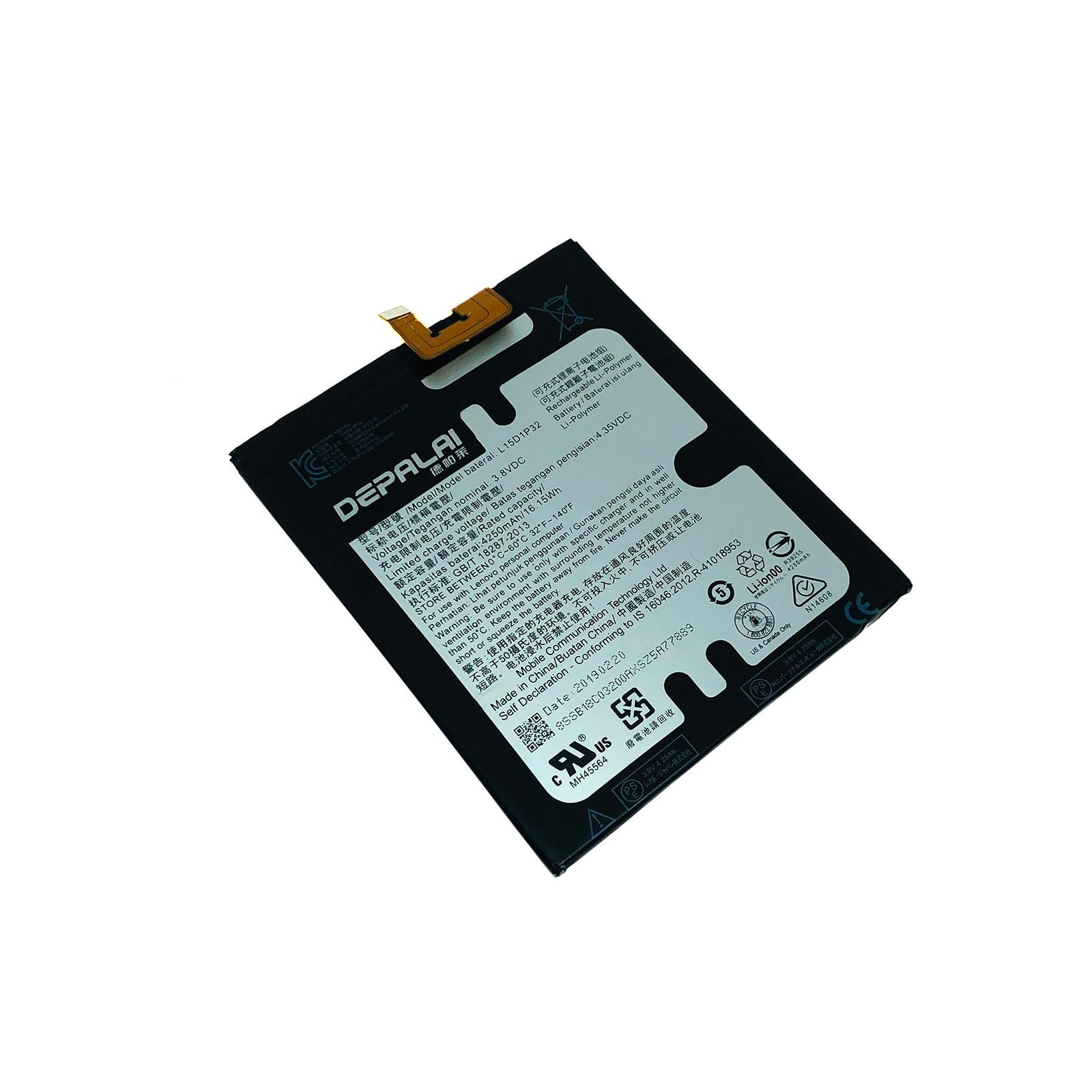 Аккумулятор L15D1P32 4250 мАч для Lenovo Tab3 Tab 3 8 Plus TB-8703F 8703N 8703X 8703 PB1-750N PB1 750N