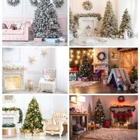 christmas indoor theme photography background christmas tree children portrait backdrops for photo studio props 21519 hdy 03